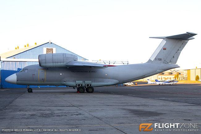 Antonov AN-72 Angola Air Force T-701 Rand Airport FAGM