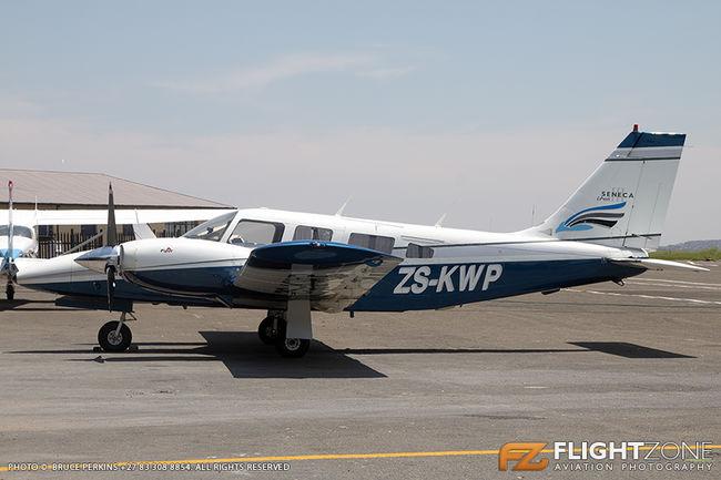 Piper PA-34 Seneca ZS-KWP Rand Airport FAGM