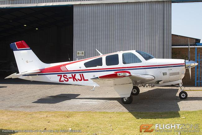 Beechcraft Bonanza F-33A ZS-KJL Rand Airport FAGM