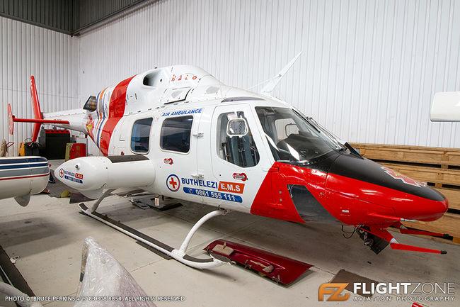 Bell 222 UT ZT-RES Rand Airport FAGM