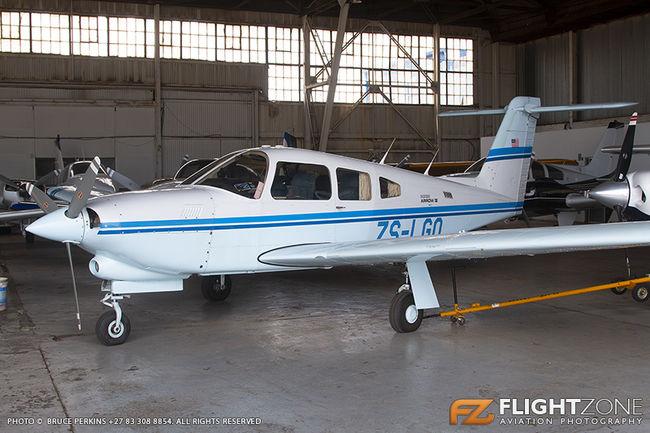 Piper PA-28R Cherokee Arrow ZS-LGO Rand Airport FAGM PA-28