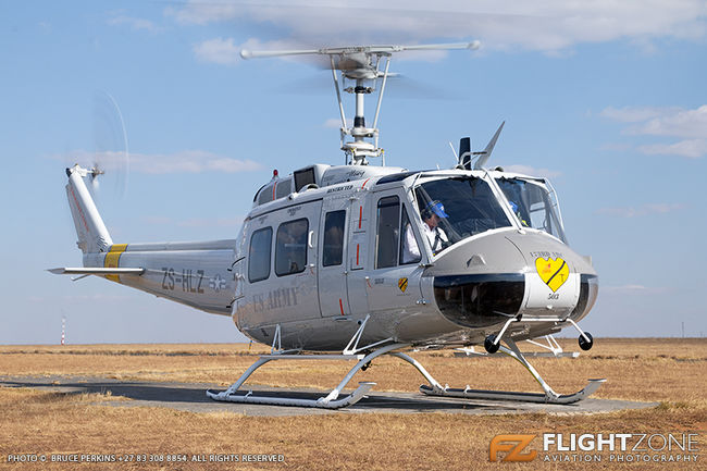 Bell UH-1H Huey ZS-HLZ Rand Airport FAGM