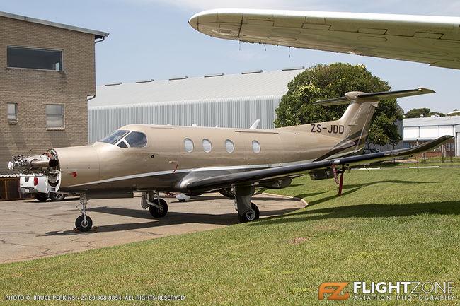 Pilatus PC-12 ZS-JDD Rand Airport FAGM