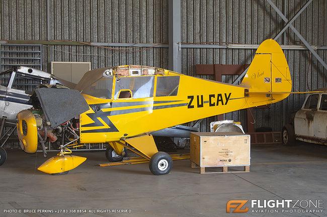 Piper PA-17 Vagabond ZU-CAY Rand Airport FAGM