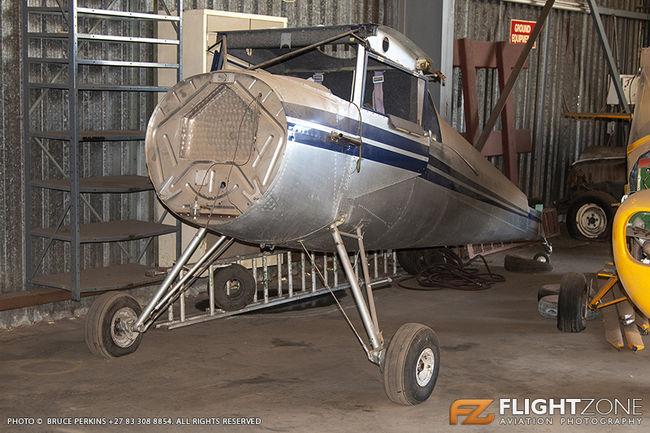 Luscombe 8A (8E) ZU-KEV Rand Airport FAGM
