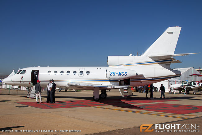 Dassault Falcon 50 ZS-MGS Wonderboom Airport FAWB