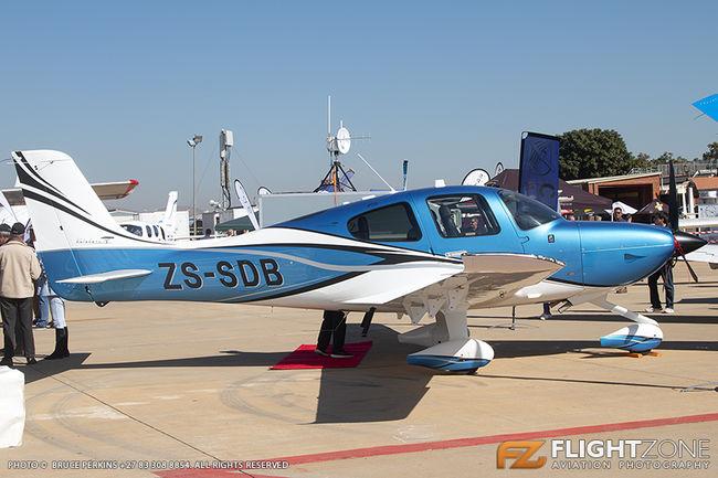 Cirrus SR-22 ZS-SDB Wonderboom Airport FAWB