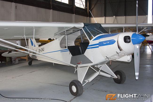 Piper PA-18 Super Cub ZS-CKU Rand Airport FAGM