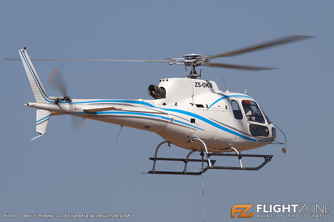 Eurocopter AS350 B3 Squirrel ZS-OKX Wonderboom Airport FAWB