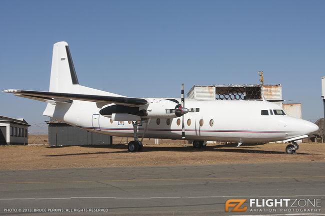 Fokker F-27 Friendship TC-MBH Rand Airport FAGM
