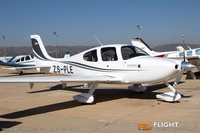 Cirrus SR-22 ZS-PLE Wonderboom Airport FAWB