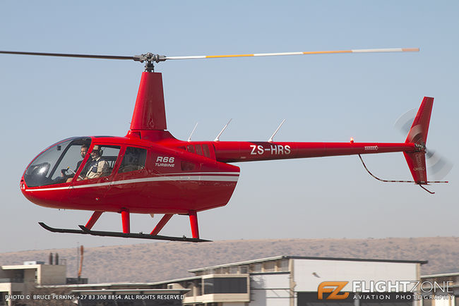 Robinson R66 ZS-HRS Wonderboom Airport FAWB