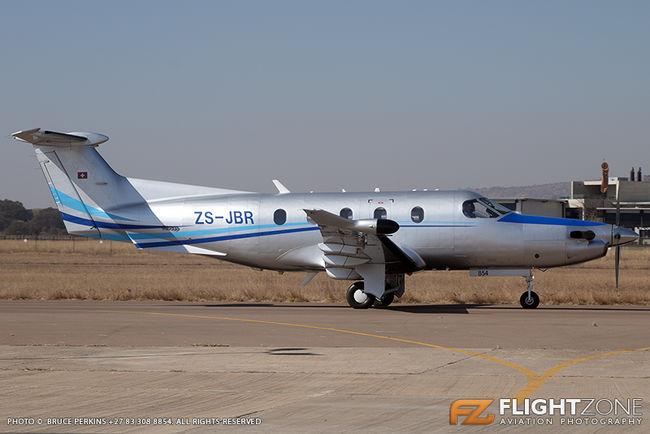 Pilatus PC-12 ZS-JBR Wonderboom Airport FAWB