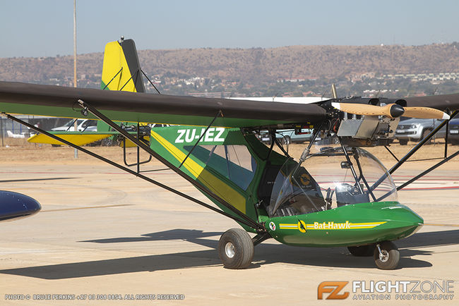 Micro Aviation Bat Hawk Bantam ZU-IEZ Wonderboom Airfield FAWB