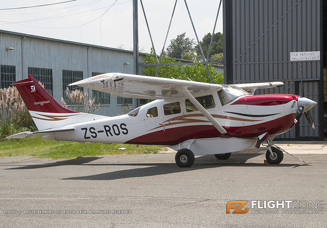 Cessna 206 Stationair ZS-ROS Rand Airport FAGM