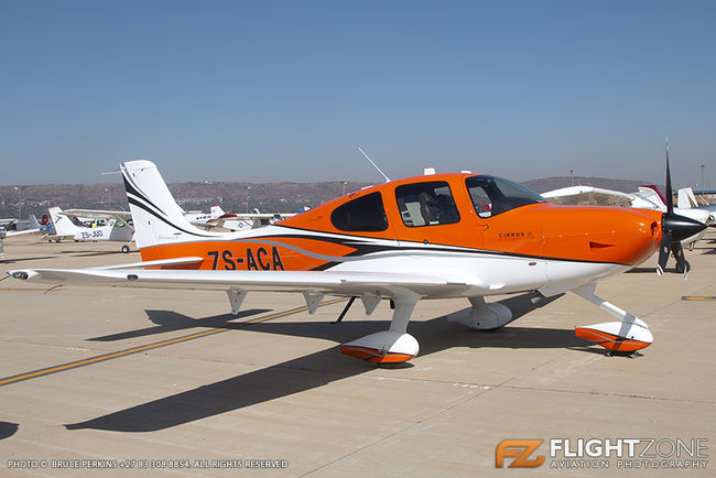 Cirrus SR-22 ZS-ACA Wonderboom Airport FAWB