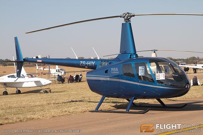 Robinson R66 ZS-HIY Wonderboom Airport FAWB