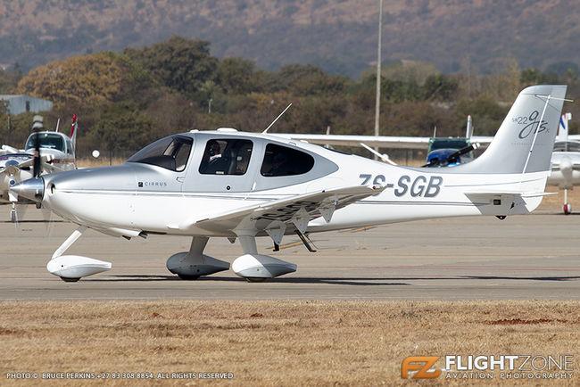 Cirrus SR-22 ZS-SGB Wonderboom Airport FAWB