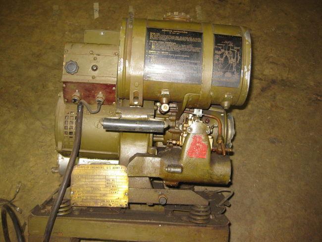 FS: : Korean War Era Homelite Generator Sold - G503 Military
