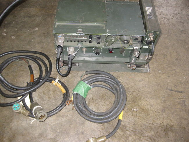 FS: Hughes AN/GRC-213 Military Vehicle Radio Set Sold - G503