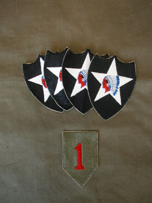 Original WW2 Infantry Division Patches