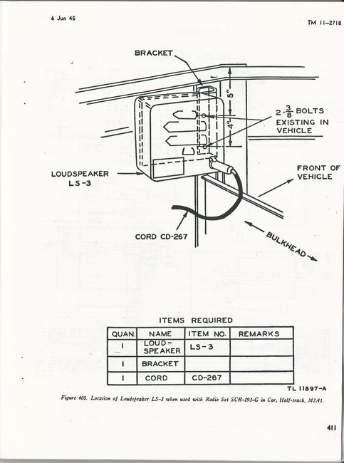 SCR-508 radio install manuals - G503 Military Vehicle Message Forums