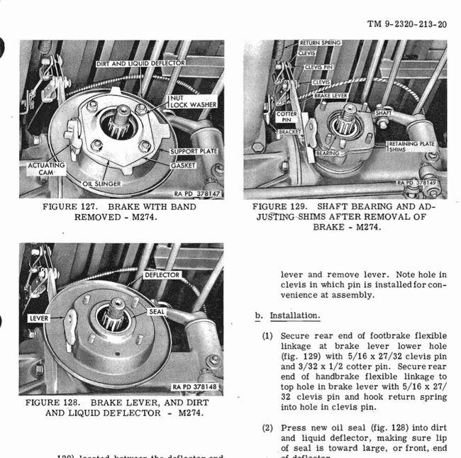 M274 Brakes