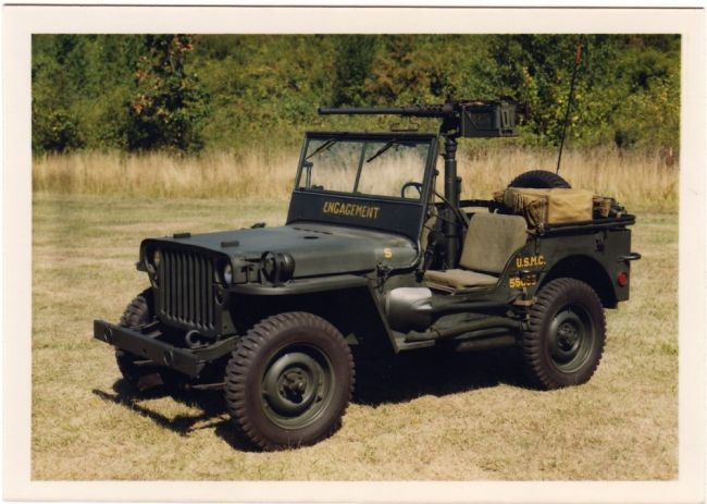 Mb on Willys Jeep Usmc M38