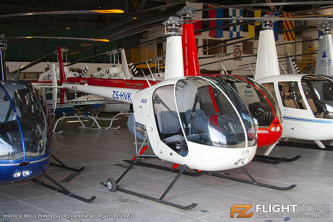 Robinson R22 ZS-HVK Rand Airport FAGM