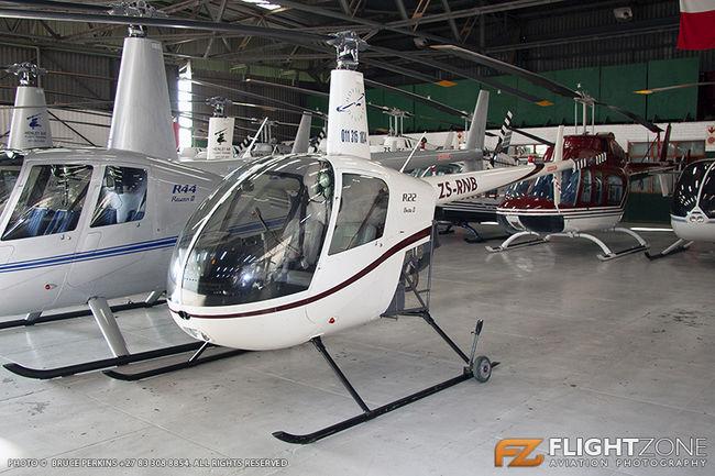 Robinson R22 ZS-RNB Rand Airport FAGM