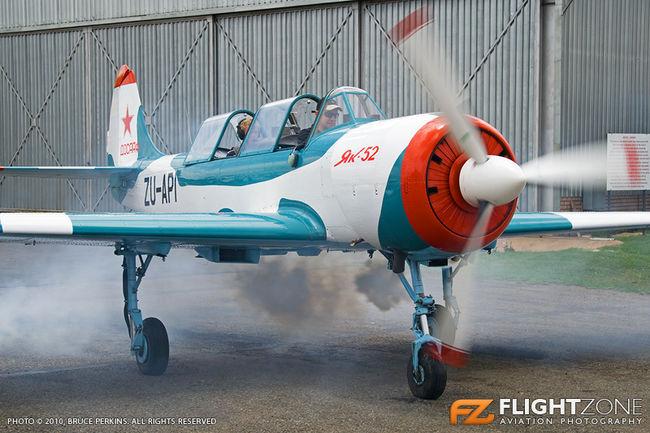 Yak-52 ZU-API Rand Airport FAGM