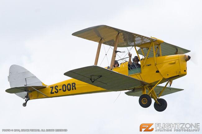 De Havilland DH-82A Tiger Moth ZS-OOR Rand Airport FAGM