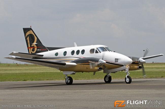 Beechcraft King Air C90A ZS-MKI Rand Airport FAGM