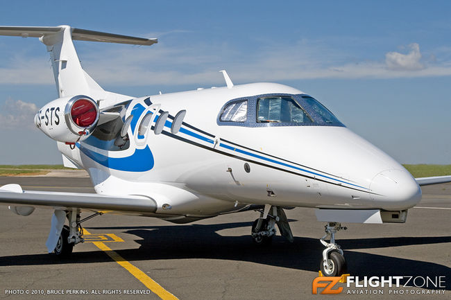 Embraer Phenom 100 ZS-STS Rand Airport FAGM