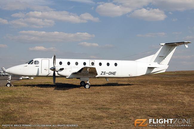 Beechcraft 1900C ZS-OHE Rand Airport FAGM 1900