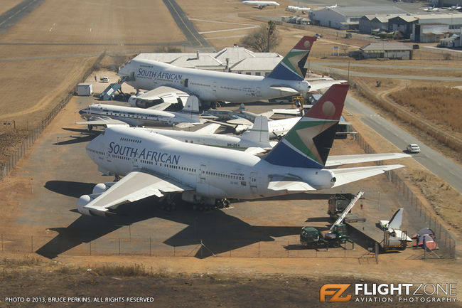 Boeing 747SP ZS-SPC Rand Airport FAGM SAA Museum