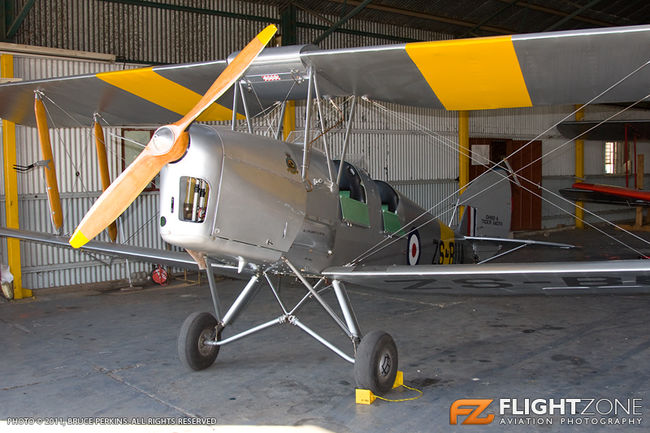 De Havilland DH-82A Tiger Moth ZS-BUA