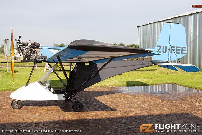Flightstar Sportplanes Duelstar ZU-FEE Petit Airfield FARA