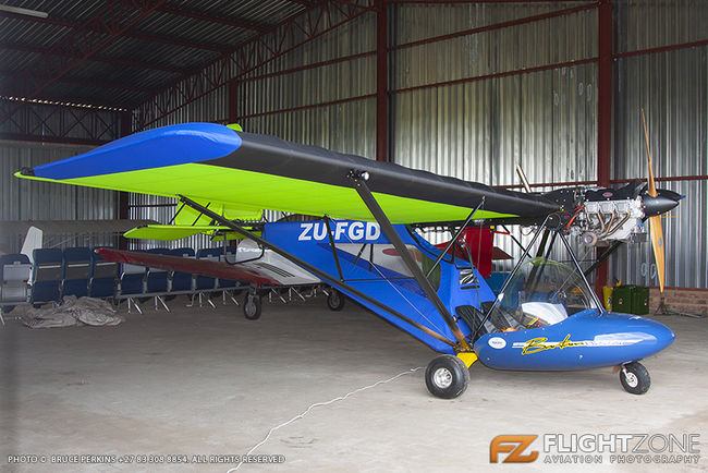 Micro Aviation Bantam B22J ZU-FGD Petit Airfield FARA