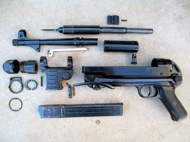 Image Gallery Mp40 Parts