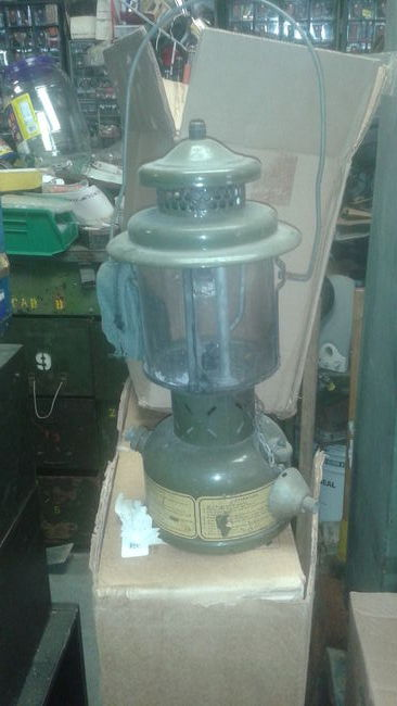 70s military lantern