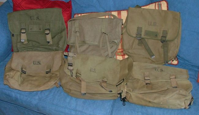Musette Bags and a couple of mystery items - G503 Military