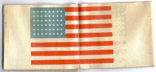 Oil_cloth_48_star_flag_ID_armband--obverse