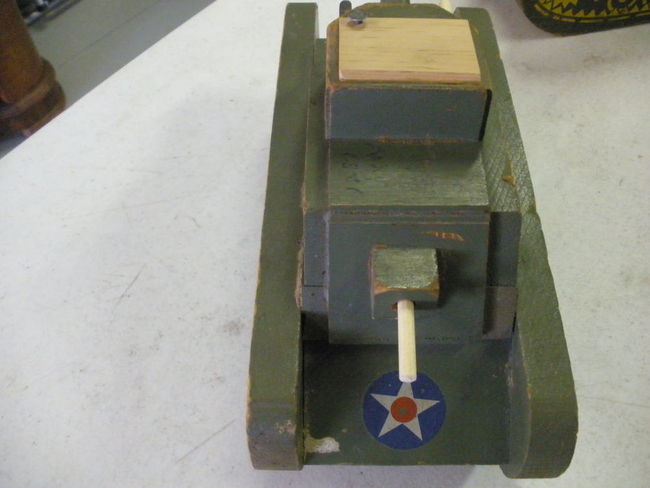WWII Wooden Toy Tanks for sale - G503 Military Vehicle ...