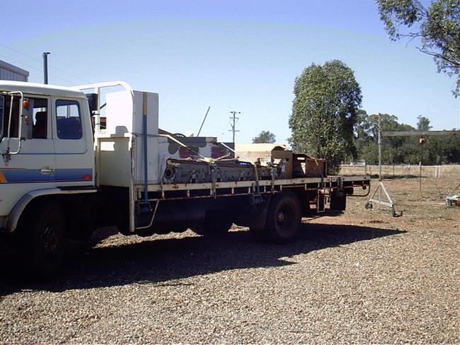 Weasel on Truck 27 January 2007