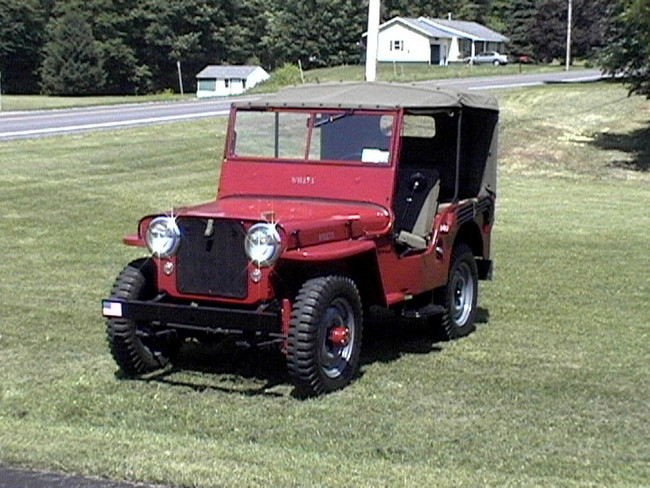 Indian Motorcycle, Willys Jeep