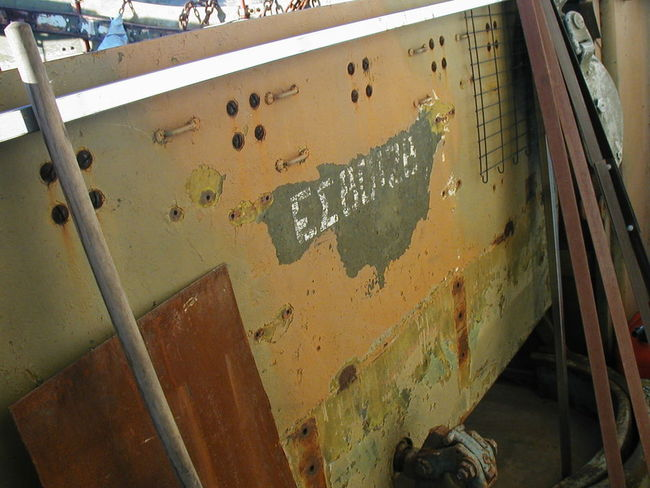 '42 Scout Car project rear armor
