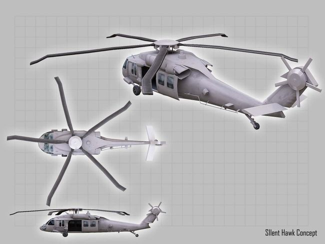 Silent Hawk Helicopter