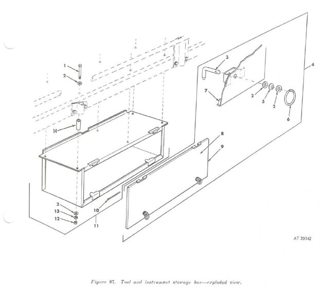 106 Tool And Insturment Storage Box