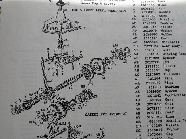 Warner Gear Div. AS-3 T-93
